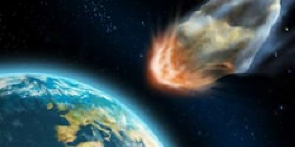 Schianto di un asteroide ripreso in diretta!